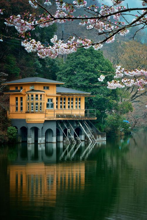 Lake House, Saitama, Japan photo via graham
