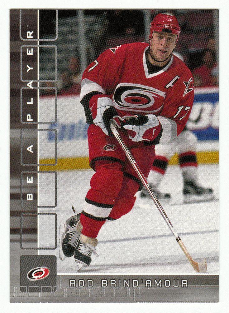 Rod Brind'Amour # 246 - 2001-02 BAP Memorabilia Hockey