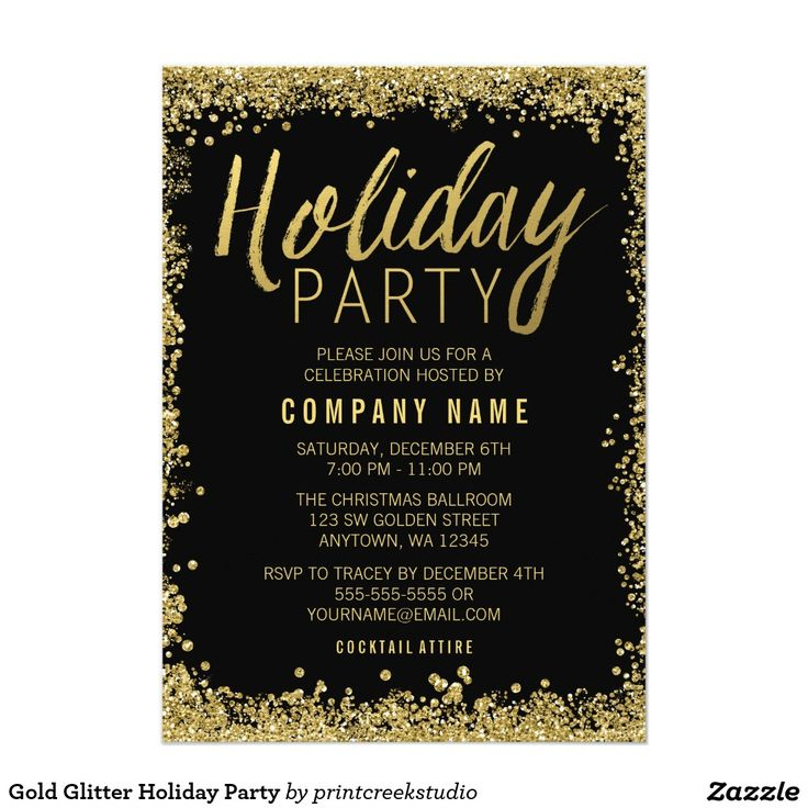 967 best Christmas Party Invitations images on Pinterest - holiday party invitation