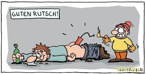 Guten Rutsch in neues Jahr :D | Lustige Bilder, Sprüche, Witze, echt lustig – Daniela Rohde-Schwarzer