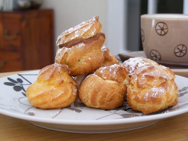Recette Dessert : Choux à la crème par Mme Bottedefoin