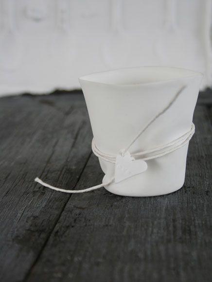 bone china tea light  Caroline Swift