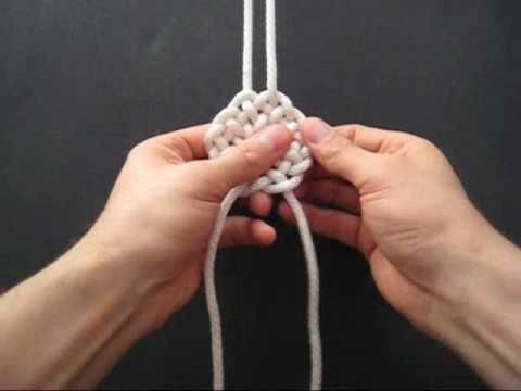 How to Tie Compound Double Coin Knots by TIAT  Although these appear to be created using twine, I use the concept to imagine wire jewelry using the technique.