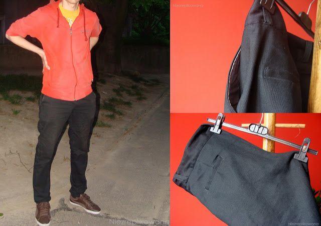 Męskie spodnie -