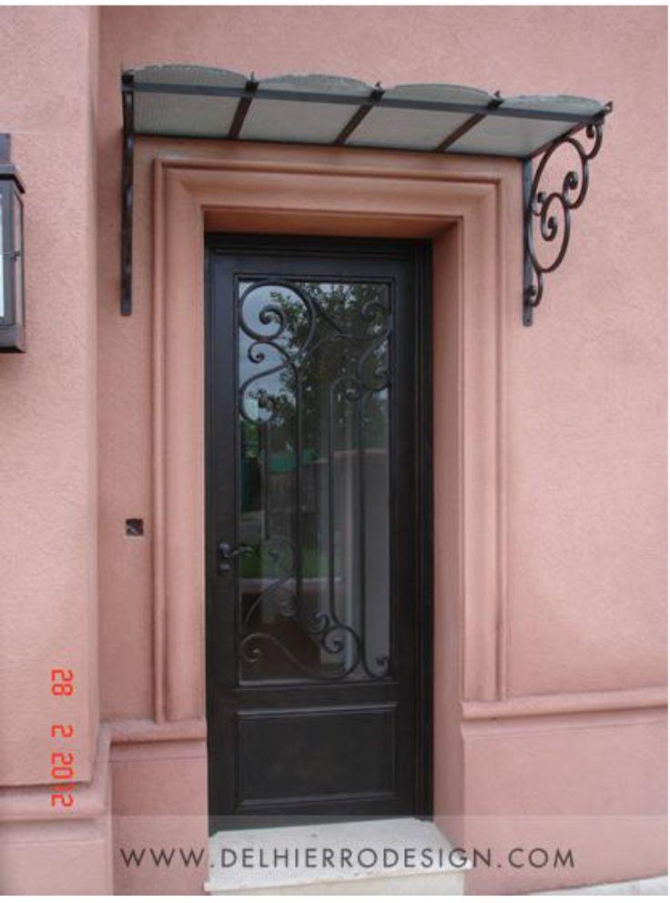 17 mejores ideas sobre techo policarbonato en pinterest for Puertas de hierro para casas modernas