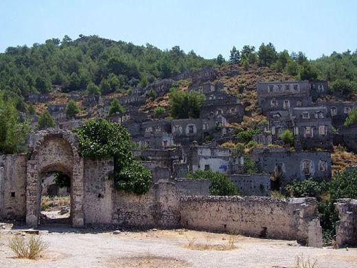 Πόλεις Φαντάσματα Ανά Τον Κόσμο Vol.2 / Kayaköy, Fethiye District, Turkey