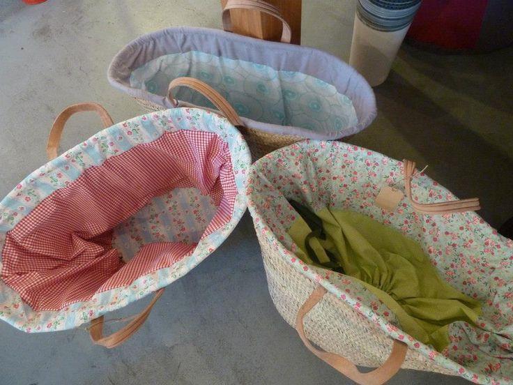 patchwork forrar una cesta - Buscar con Google