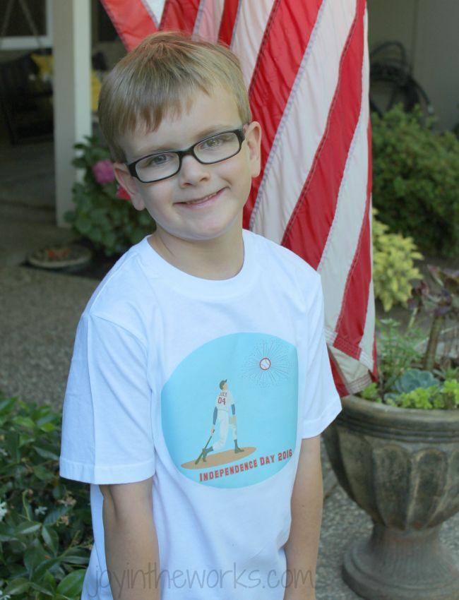 lego 4th of july shirt
