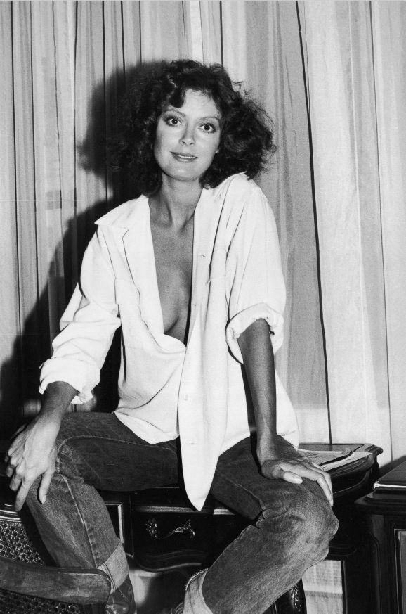 Susan Sarandon, Sept 1978, by Tim Boxer/Hulton Archive/Getty Images