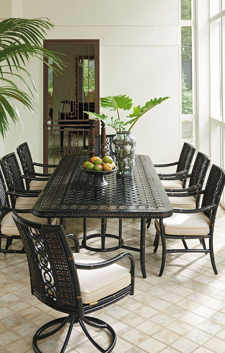 Best 25 Tropical Outdoor Dining Chairs Ideas On Pinterest Custom Tropical Dining Room Chairs Inspiration Design