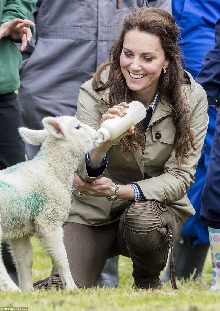 The Duchess of Cambridge revealed that she and Prince William keep a menagerie of animals ...