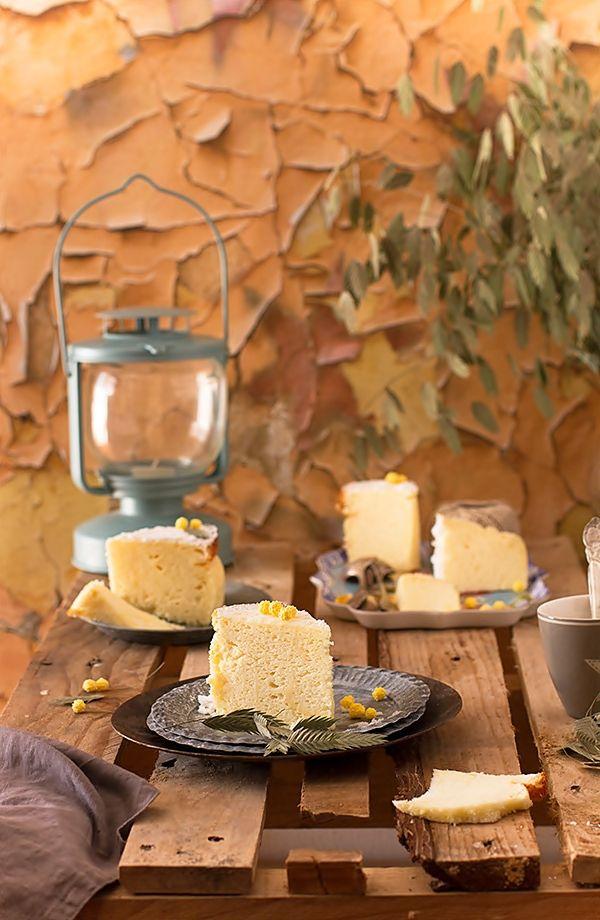 Cómo  hacer cheesecake o tarta de queso japonesa. Receta infalible