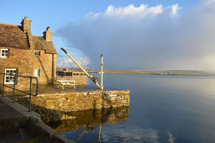 Stromness Harbour, South End