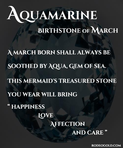 I'm a March baby and the water does calm me!