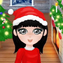 Christmas Girl Dressup: Help the cute little girl choose which outfits to wear and makeup to put to celebrate Christmas. There are plenty of clothes, haircuts , skin colors and much more! Suitable for younger girls.