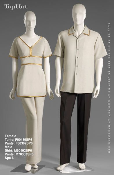 18 best spa uniform images on pinterest spa uniform top for Spa uniform in the philippines