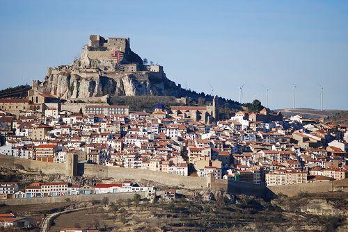 Morella, Castellón. Precioso pueblo de montaña.