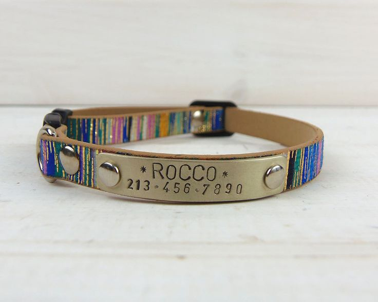 The 25+ best Personalized cat collars ideas on Pinterest ...