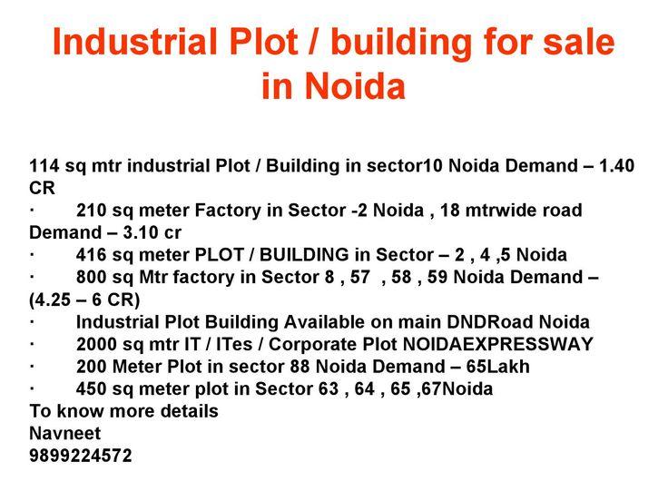 Industrial plot