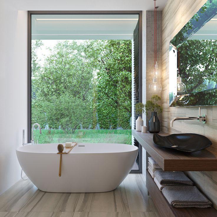 Kúpeľňa - Moderné spojenie s prírodou, MYDOM