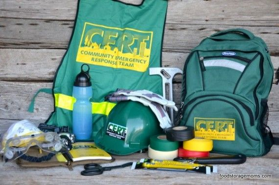 Whats In Your C.E.R.T. Bag? (C.E.R.T. = Community Emergency Response Team)