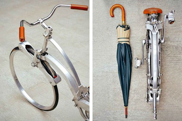Never be without your bike again with this bike that folds up to the size of an umbrella! http://ow.ly/wEThR