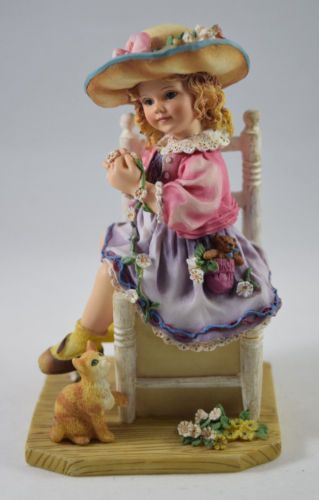 Christine-Haworth-Paintbox-Poppets-Figurine-039-Daisy-Chains-039-Leonardo-Boxed-VGC