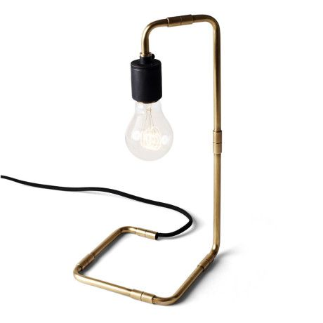 Menu Tribeca Reade Table Lamp Brass - Trouva