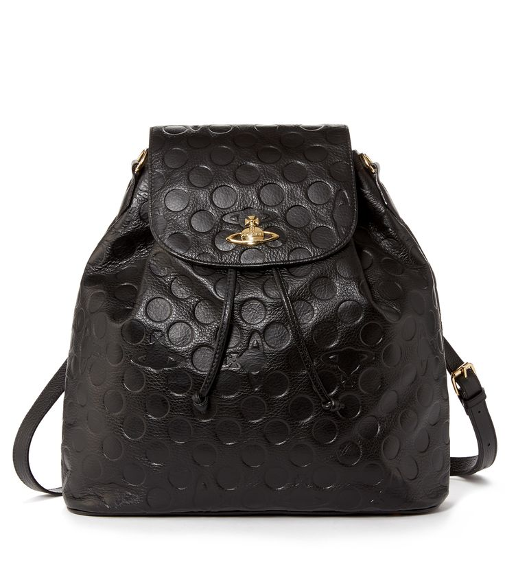 Polka Dot Bag Black #AW1415 #Anglomania