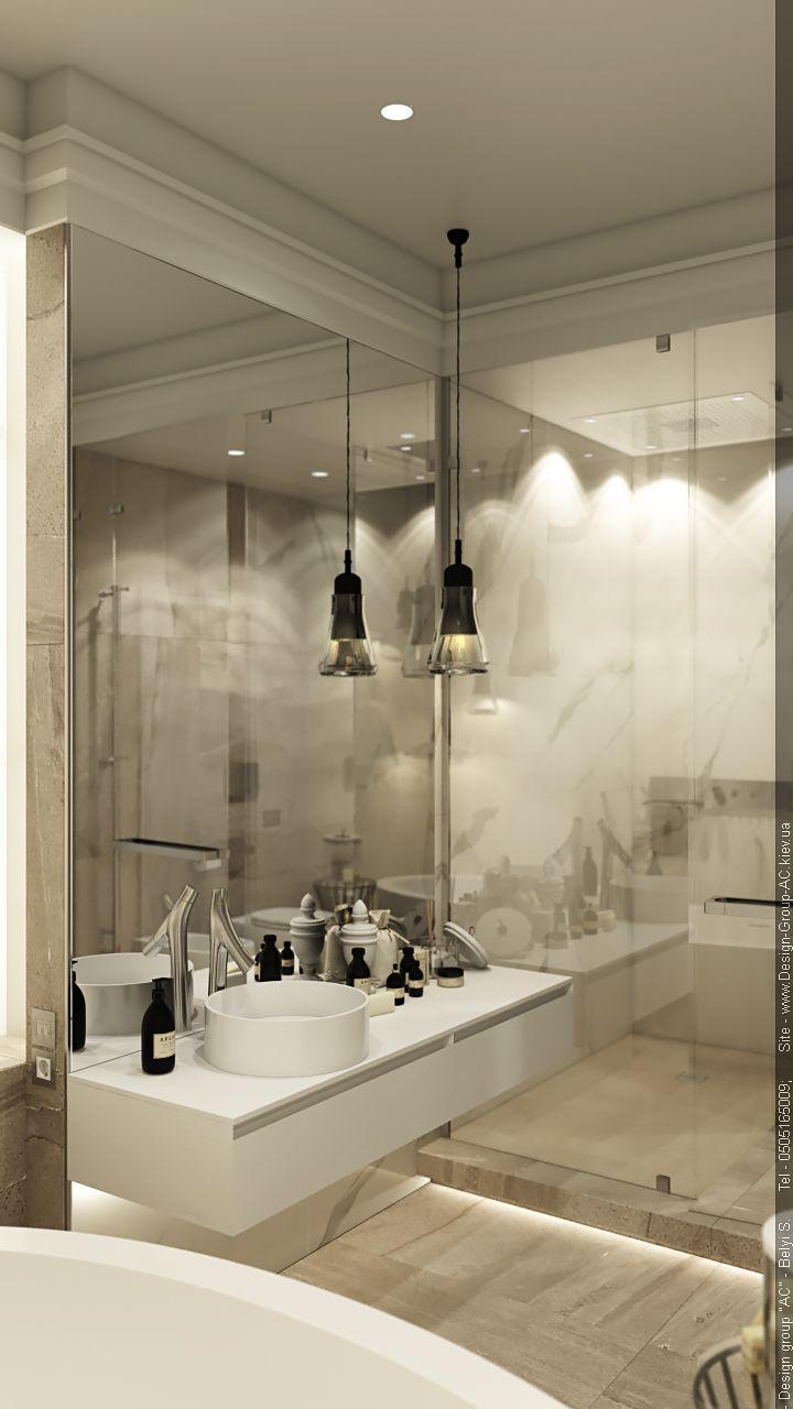 "Ukraine. Kiev. Private apartments №3. Bathroom. V2__ЖК ""Crystal Park"" __St. Sophia Homes"