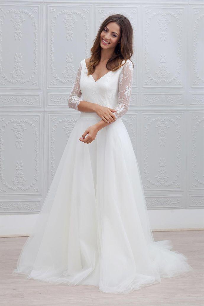 "Robe de mariée volumineuse ""Marie"" - crédits: Marie Laporte | Donne-moi ta main - Blog mariage  --- #robedemariée #weddingdress #mariage #wedding #NouvelleCollection #NewCollection 2015 #créatrice #MarieLaporte"