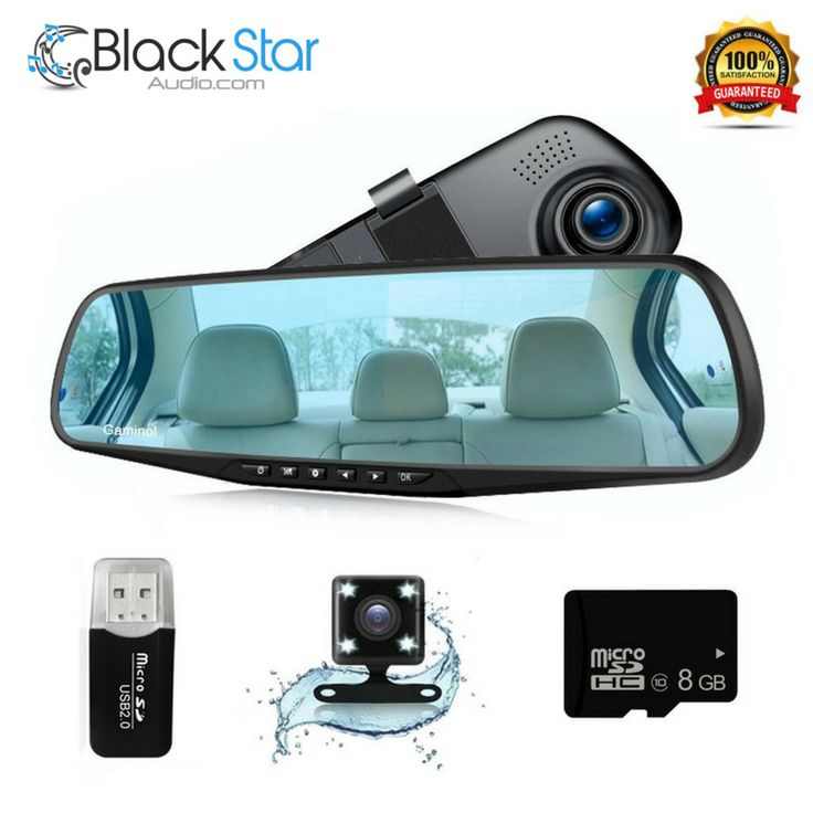 Car Camera Dash Cam Rear View Mirror Car Video 1080P Car Driving Recorder Mirror #Gaminol