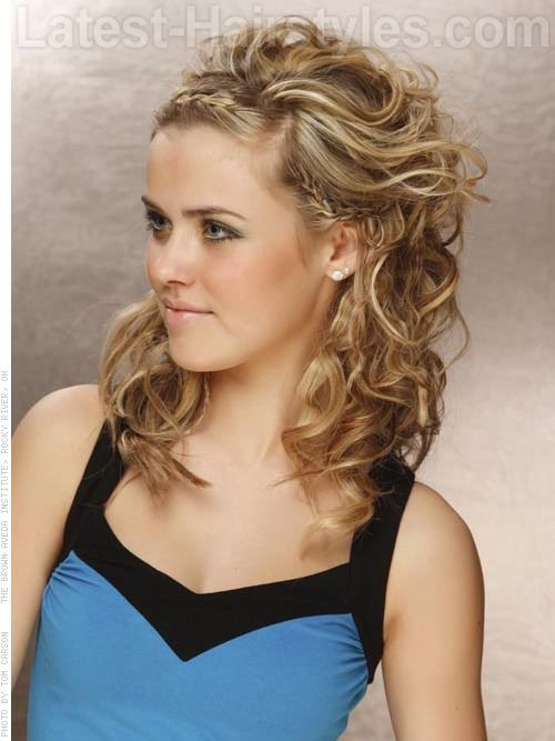 Easy Homecoming Hairstyles For Straight Hair : Easy prom hairstyles for long straight hair best 2017