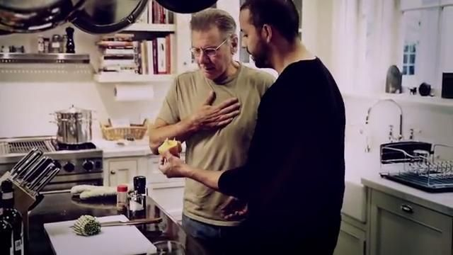"David Blaine did a Trick that made Harrison Ford say: ""Get the F... Out of my House!"""