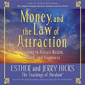 "Another must-listen from my #AudibleApp: ""Money, and the Law of Attraction: Learning to Attract Wealth, Health, and Happiness"" by Esther Hicks, narrated by Esther Hicks."