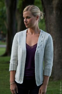 Metro cardigan by Connie Chang Chinchio published in twist collective fall 2010. Ravelry download $7.00. Are the sleeves a bit loose?