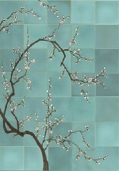Ann Sacks Sakura Cherry Tree Mural Part 86