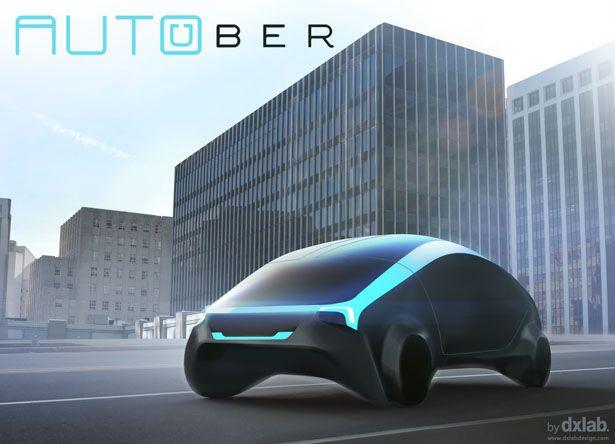 AutoUber est un projet de voiture autonome pour l'entreprise de VTC Uber. Imaginé par dxLabDesign, ce concept de voiture autonome est plus que réussi.