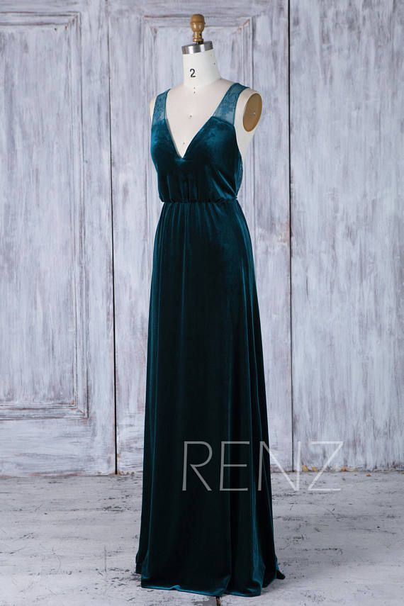 Best 25+ Velvet bridesmaid dresses ideas only on Pinterest ...