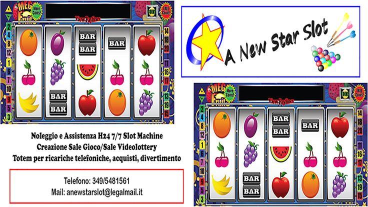 A New Star Slot di Omar Baruzzo Machine Bar Sala Giochi Sale Casino Videolottery VLT Biliardi Biliardo Calcetto Calcetti Freccette Dardi Intrattenimento Creare sala Slot Vincere