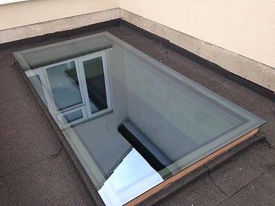 Skylight/Roof Lantern/Glass Flat Rooflight - Double Glazed - 32 Size Variations