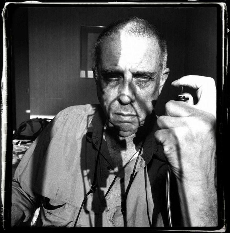 """Lee Friedlander self portrait 1997, """"Ich habe mein Leben aufgeschrieben"""" Serie"""