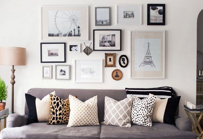 4 Steps to Creating a Gorgeous Gallery Wall | The Dandelion Patch