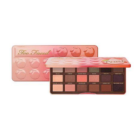 Too Faced 'Sweet Peach' eye shadow palette   Debenhams