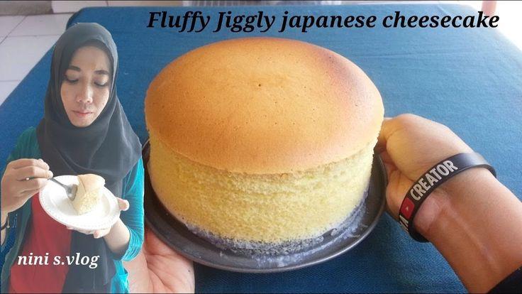 Japanese Cheesecake Simple Dan Hemat 2 Telur Tanpa Pengembang English Subtitle Youtube Kue Keju Jepang Cemilan Makanan Dan Minuman