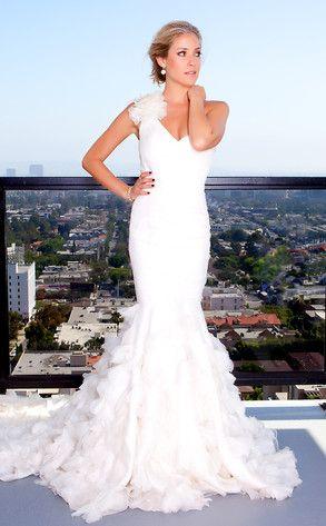 Kristen Cavallari, Wedding Dress