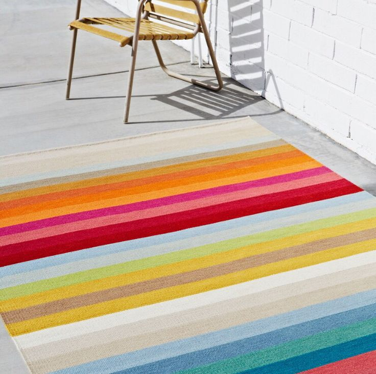 A classic, simple stripe can hold its own and bring to life any space | armadillo-co.com