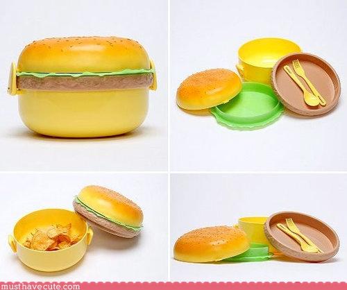 Burger Bento Box