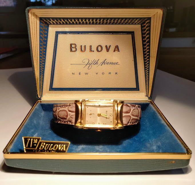 Nu in de #Catawiki veilingen: Bulova 8 ac dames uurwerk. mooie staat.