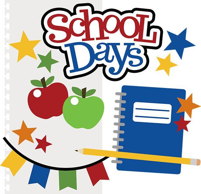 School Days SVG files for scrapbooking school svg cut files free svgs school svgs scal files